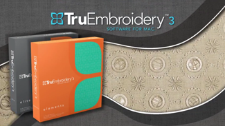 TruEmbroidery 3 Software Overview